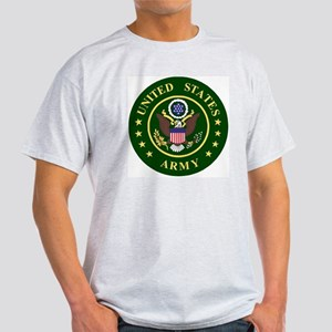 ArmyLogoToMatchStripes2 Light T-Shirt