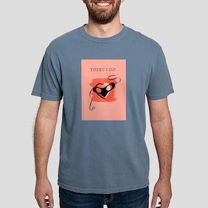 Vintage Masked Heart Mens Comfort Colors Shirt