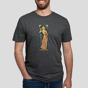 Vintage Champagne Art Mens Tri-blend T-Shirt