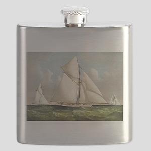 Volunteer - 1887 Flask