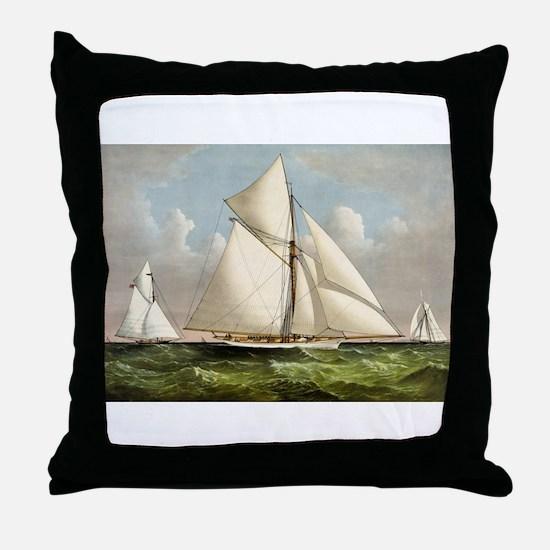 Volunteer - 1887 Throw Pillow