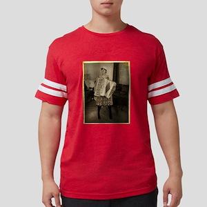 retro-accordion2 Mens Football Shirt
