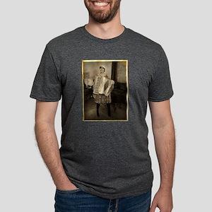 retro-accordion2 Mens Tri-blend T-Shirt