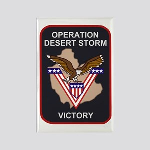 OperationDesertStormBonnie Rectangle Magnet