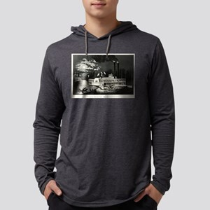 Wooding up on the Mississippi - 1863 Mens Hood