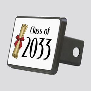 Class of 2033 Diploma Rectangular Hitch Cover
