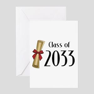Class of 2033 Diploma Greeting Card