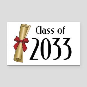 Class of 2033 Diploma Rectangle Car Magnet