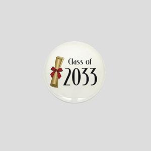 Class of 2033 Diploma Mini Button