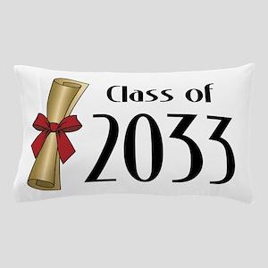 Class of 2033 Diploma Pillow Case