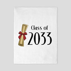 Class of 2033 Diploma Twin Duvet