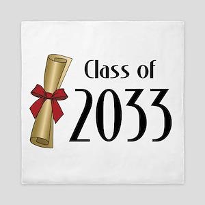 Class of 2033 Diploma Queen Duvet