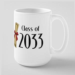 Class of 2033 Diploma Large Mug