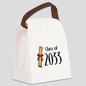 Class of 2033 Diploma Canvas Lunch Bag