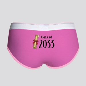 Class of 2033 Diploma Women's Boy Brief
