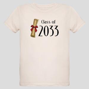 Class of 2033 Diploma Organic Kids T-Shirt