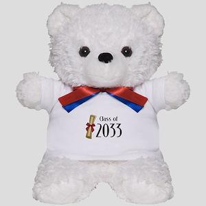 Class of 2033 Diploma Teddy Bear