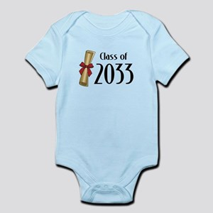 Class of 2033 Diploma Infant Bodysuit