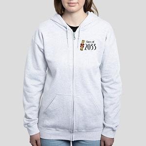 Class of 2033 Diploma Women's Zip Hoodie