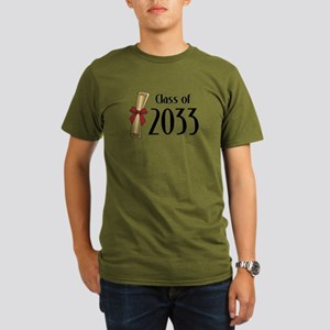Class of 2033 Diploma Organic Men's T-Shirt (dark)