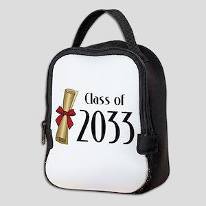 Class of 2033 Diploma Neoprene Lunch Bag