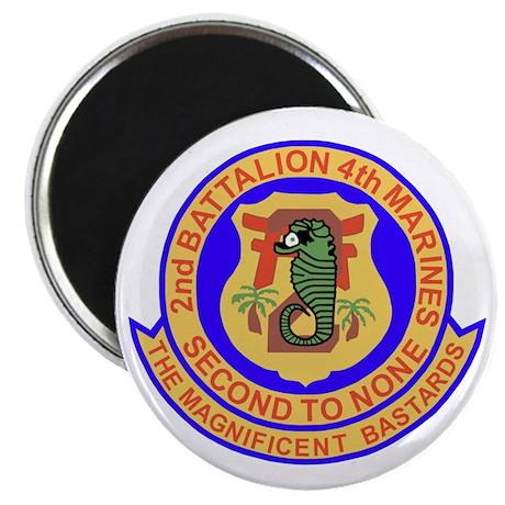 USMC2ndBn4thMarinesBonnie Magnet