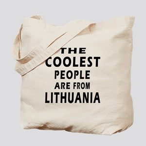 The Coolest Lithuania Designs Tote Bag