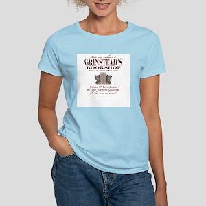 Grinstead's Bookshop Women's Pink T-Shirt