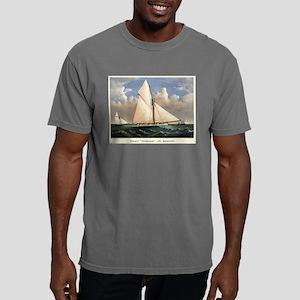 Yacht Puritan of Boston - 1885 Mens Comfort Colors