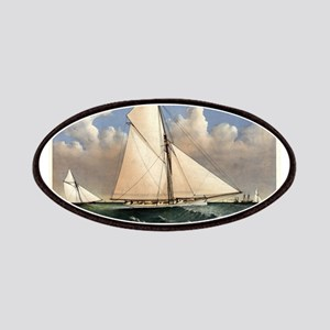 Yacht Puritan of Boston - 1885 Patch