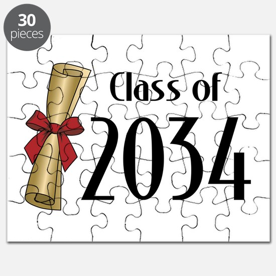 Class of 2034 Diploma Puzzle