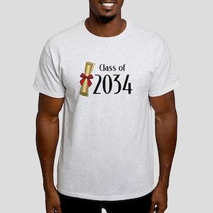 Class of 2034 Diploma Light T-Shirt