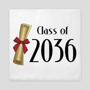 Class of 2036 Diploma Queen Duvet
