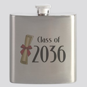 Class of 2036 Diploma Flask