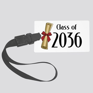 Class of 2036 Diploma Large Luggage Tag