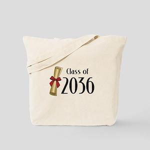Class of 2036 Diploma Tote Bag