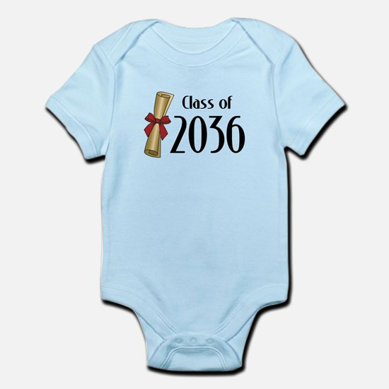 Class of 2036 Diploma Infant Bodysuit