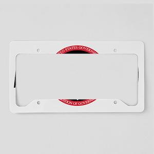 AFGELocal2369BlackCap2 License Plate Holder