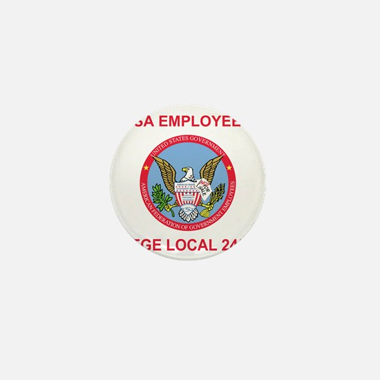 AFGE-Local2452Teeshirt4.gif Mini Button