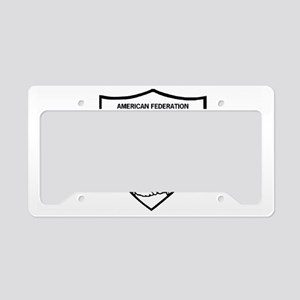 AFGE-Local3343BlackCap License Plate Holder