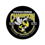 "3.5"" Button 9:00 Science Challenge Champion"