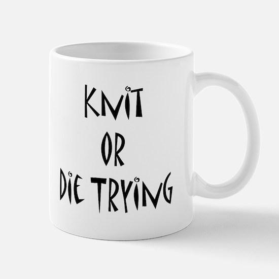 Gilmore Girls Knit or Die Mug