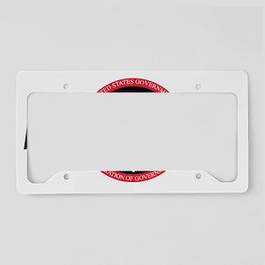 AFGE1164BlackCap2 License Plate Holder