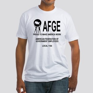 AFGE1164Shirt1Back Fitted T-Shirt