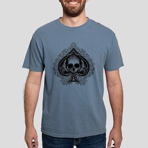 ace-spades-skull_wh Mens Comfort Colors Shirt
