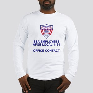 AFGE1164OfficeContact Long Sleeve T-Shirt