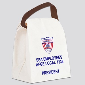 AFGE1336Pres Canvas Lunch Bag