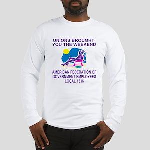 AFGE1336WeekendDark Long Sleeve T-Shirt