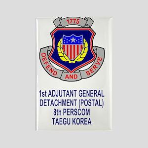 Army1stAGDetachmentSticker Rectangle Magnet