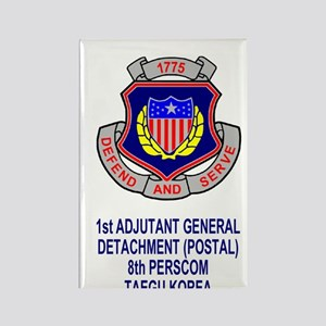 Army1stAGDetachmentSticker.gif Rectangle Magnet